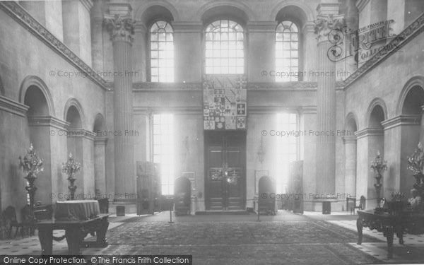 Photo of Woodstock, The Great Hall, Blenheim Palace c.1955