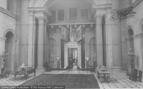 Photo of Woodstock, The Great Hall, Blenheim Palace c.1960