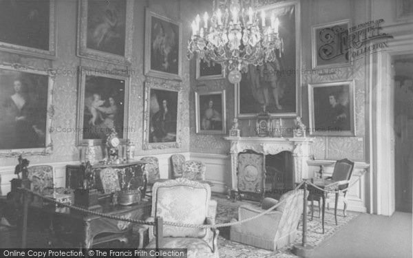 Photo of Woodstock, The Green Drawing Room, Blenheim Palace c.1960