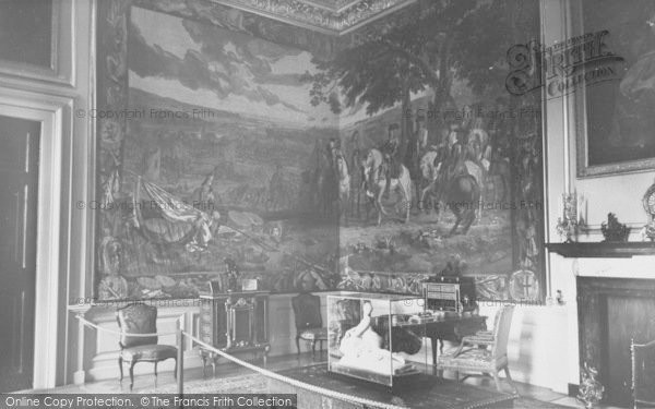 Photo of Woodstock, The Green Writing Room, Blenheim Palace c.1960