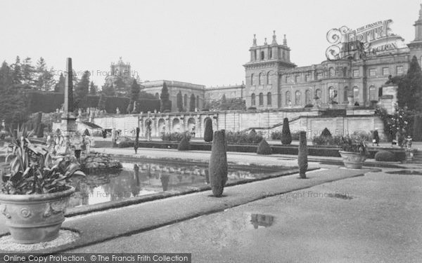 Photo of Woodstock, The Italian Water Garden, Blenheim Palace c.1960