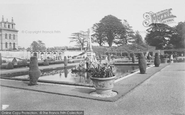 Photo of Woodstock, The Italian Water Garden, Blenheim Palace c.1960