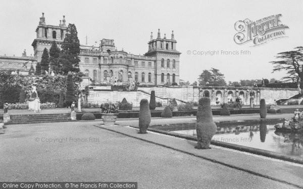 Photo of Woodstock, The Italian Water Gardens, Blenheim Palace c.1960