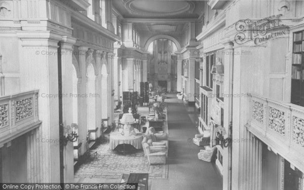 Photo of Woodstock, The Long Library, Blenheim Palace c.1960