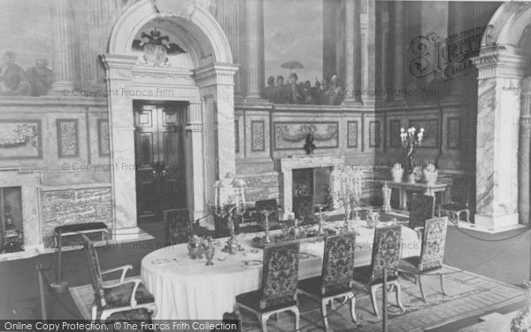 Photo of Woodstock, The Red Dining Salon, Blenheim Palace c.1960