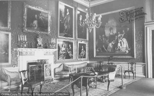 Photo of Woodstock, The Red Drawing Room, Blenheim Palace c.1960
