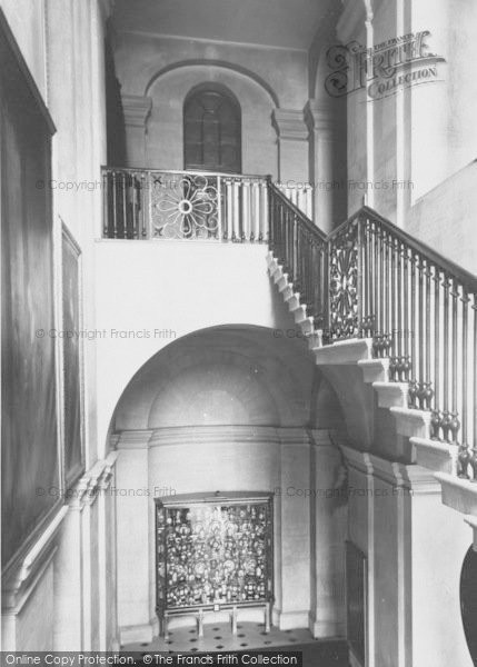 Photo of Woodstock, The Staircase, Blenheim Palace c.1955