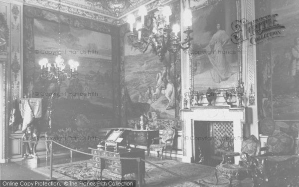 Photo of Woodstock, The State Room, Blenheim Palace c.1960
