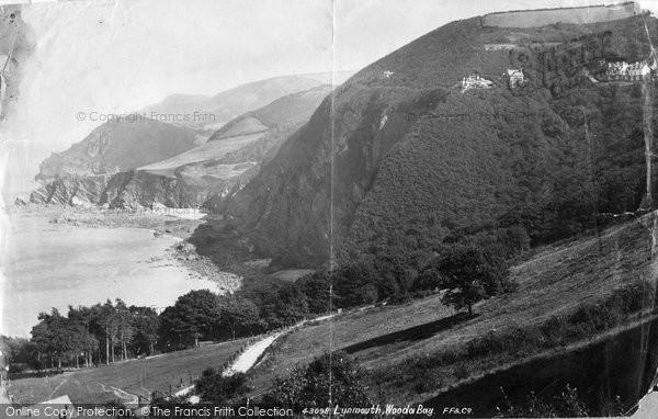 Photo of Woody Bay, 1899