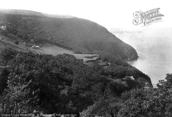 Photo of Woody Bay, 1908