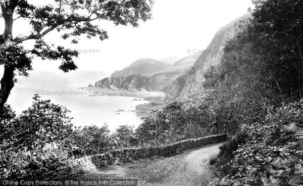 Photo of Woody Bay, 1908, ref. 61092