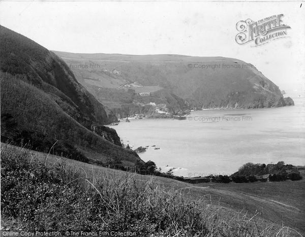 Photo of Woody Bay, c.1890
