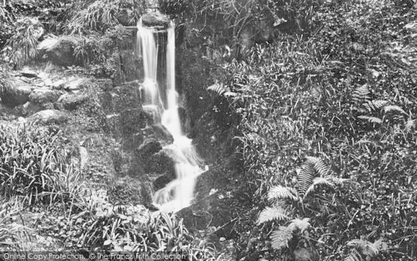 Photo of Woody Bay, Inkerman Bridge Waterfall 1908