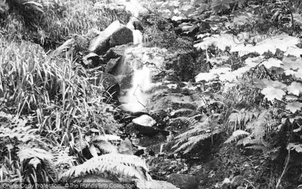Photo of Woody Bay, Inkerman Falls c.1960