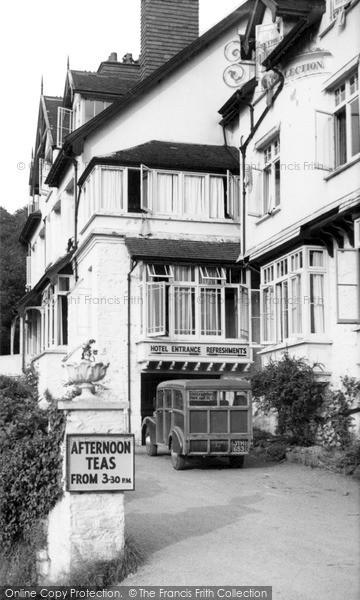 Photo of Woody Bay, Woody Bay Hotel c.1955