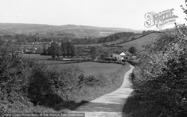Photo of Wookey, General View c.1955