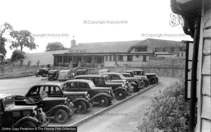 Photo of Wookey Hole, Car Park And Restaurant c.1939