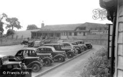 Wookey Hole, Car Park And Restaurant c.1939