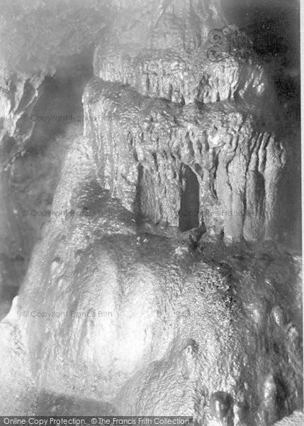Photo of Wookey Hole, Cave, The Pagoda 1896