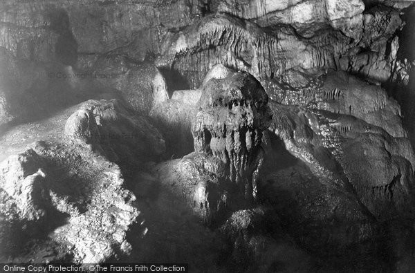 Photo of Wookey Hole, Cave 'the Witch' 1896