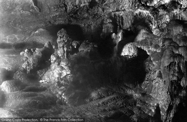 Photo of Wookey Hole, Cave, 'the Witch' 1896