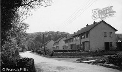 Wookey, New Houses c.1955