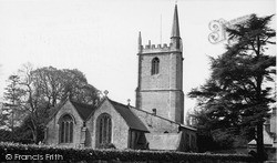 Wookey, St Matthew's Church c.1955
