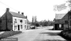 Wookey, The Burcott Inn c.1960