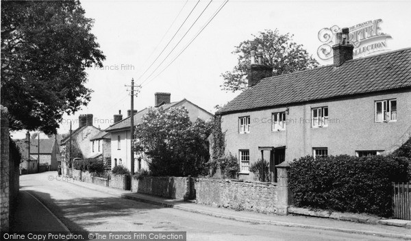 Photo of Wookey, The Village c.1955