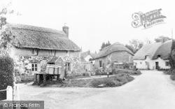 Church Lane c.1955, Wool