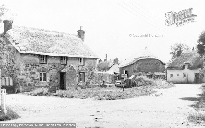 Photo of Wool, Church Lane c.1955