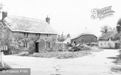 Wool, Church Lane c.1955