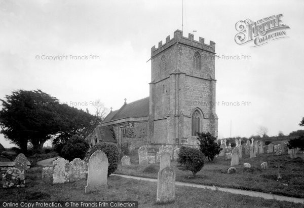Photo of Wool, Church Of The Holy Rood c.1955