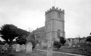 Wool, Church Of The Holy Rood c.1955