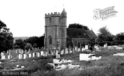 Church Of The Holy Rood c.1955, Wool