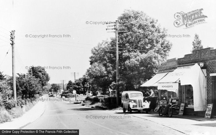 Photo of Wool, Dorchester Road c.1955