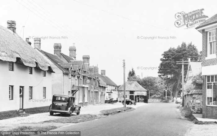 Photo of Wool, High Street c.1955