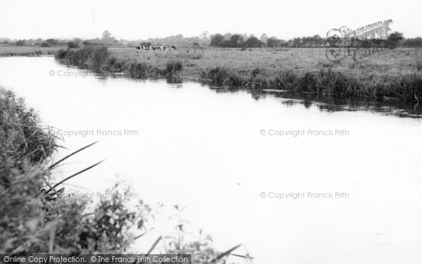 Photo of Wool, River Frome c.1965