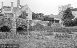 Wool, Tank Crossing Wool Bridge c.1950
