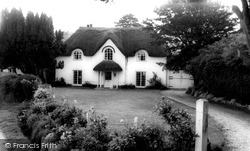 Thatched Cottage c.1965, Wool