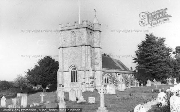 Photo of Wool, The Church c.1960