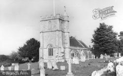 Wool, The Church c.1960