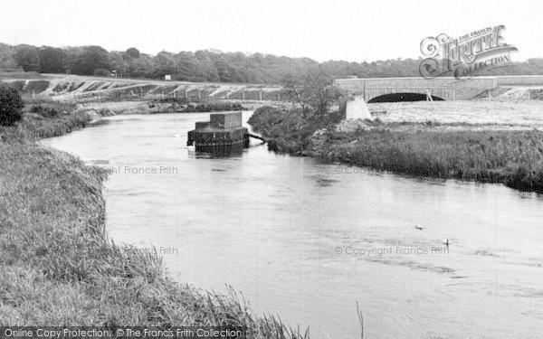 Photo of Wool, The New Bridge c.1955