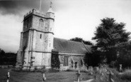 Wool, The Parish Church c.1965
