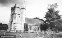 The Parish Church c.1965, Wool