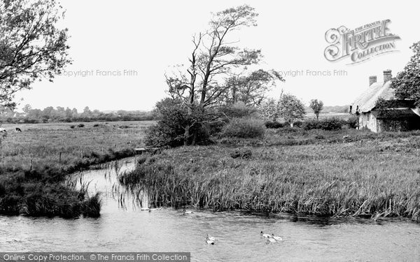 Photo of Wool, The River Frome c.1955