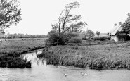 Wool, The River Frome c.1955