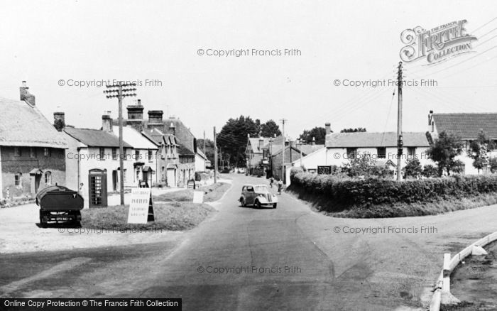 Photo of Wool, The Village c.1955