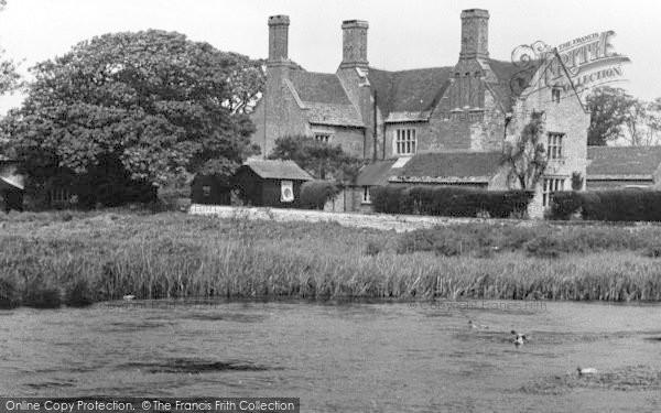 Photo of Wool, Woolbridge Manor c.1955