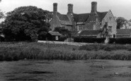 Wool, Woolbridge Manor c.1955